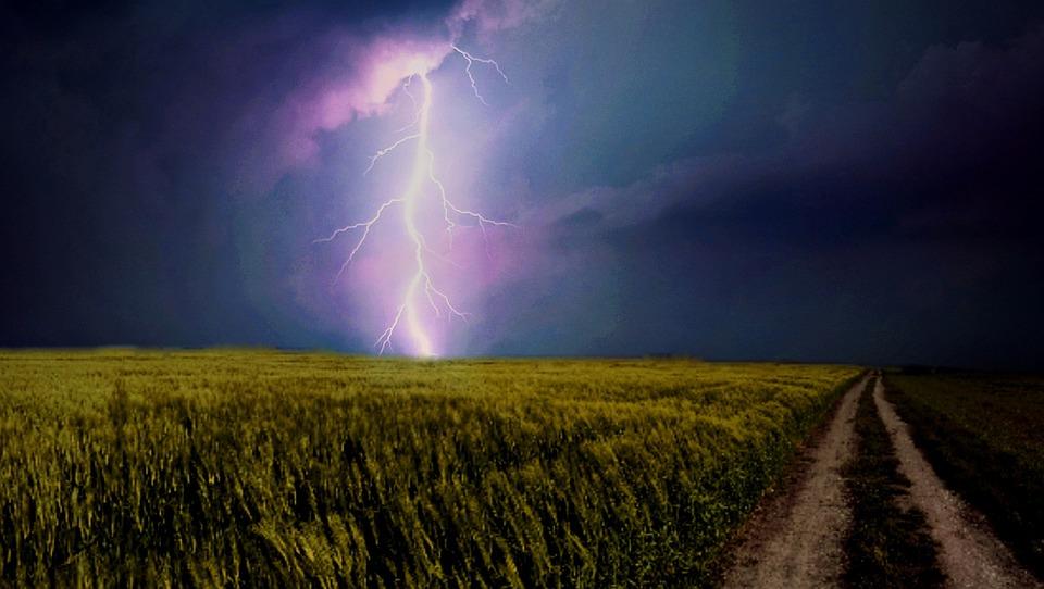 Wenn der Blitz ins Leben einschlägt
